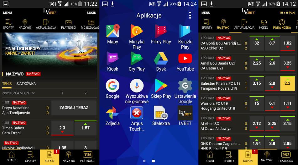 lvbet nowa aplikacja mobilna 2018
