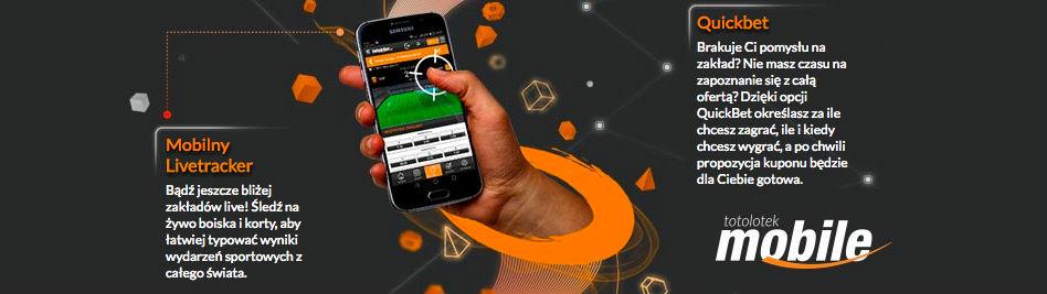 totolotek funkcje aplikacji mobilnej